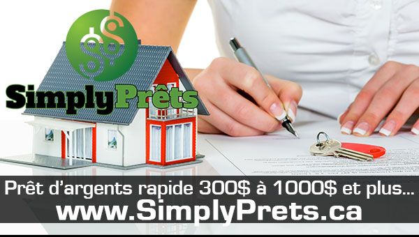 SimplyPrêts.ca - Informations supplémentaires